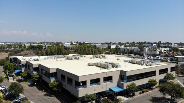 Picture of Commercial Building Roofing Project