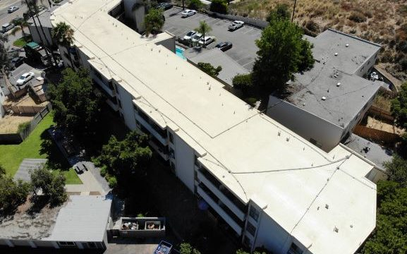 Picture of Apartment Building Roofing Project
