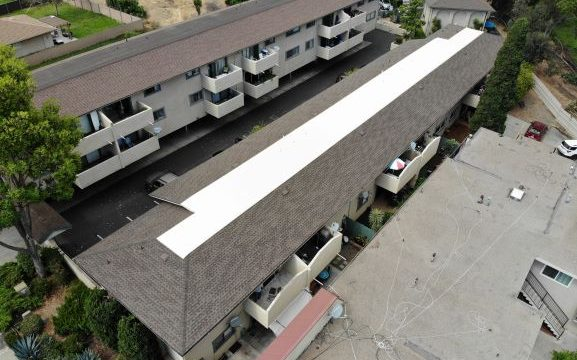 Picture of Condo Building Roofing Project